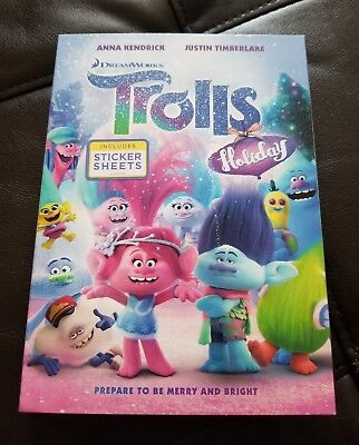 Dreamworks Trolls Holiday Dvd In Stock Now Anna Kendrick Justin Timberlake