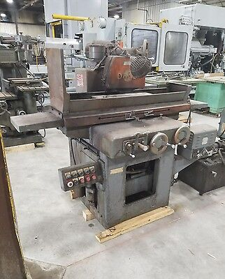Doall D824-12 Surface Grinder 8 X 24 Machinist 4444sr