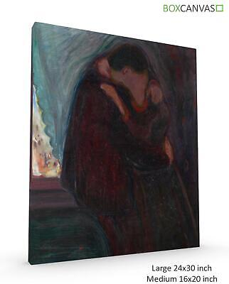Munch Norwegian Exhibition Charlottenborg Advert Large Wall Art Print 18X24 In