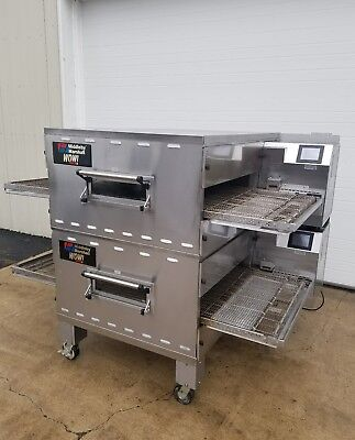 Middleby Marshall Wow Double Stack Conveyor Ovens 32 Belt Width Ps640 Ps740