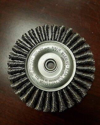 Weiler 08954 4 .020 Stainless 12 - 38 Root Pass Brush