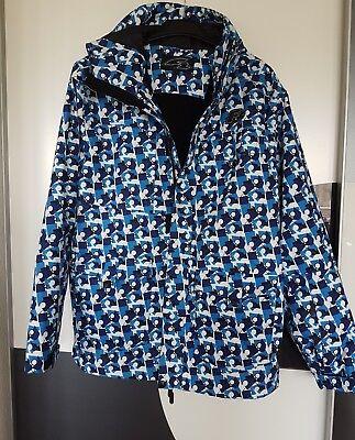 TOP 👍Snowboardjacke/Winterjacke von F2, blau/weiß, Größe L, wie neu!, gebraucht gebraucht kaufen  Mannheim