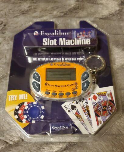 Excalibur Slot Machine Casino Electronic Game Handheld Key C