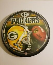 Green Bay Packers Round Wall Clock WinCraft
