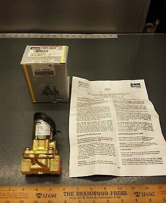 New Parker Skinner 24v Solenoid Control Valve Lb26l630. Npt 40 Psi