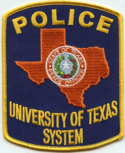UNIVERSITY OF TEXAS TX SYSTEM POLICE PATCH