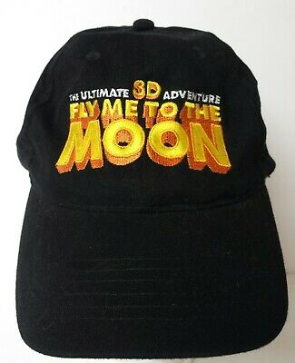 Fly Me To The Moon 3D 2008 Kelly Ripa Tim Curry Movie Promo Hat