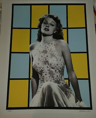Recurring Dreams of Rita Hayworth Limited Edition print 29 TIM OLIVEIRA