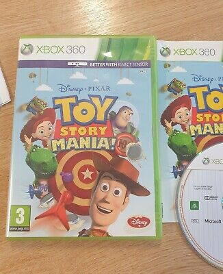 Toy story mania xbox 360 excellent condition