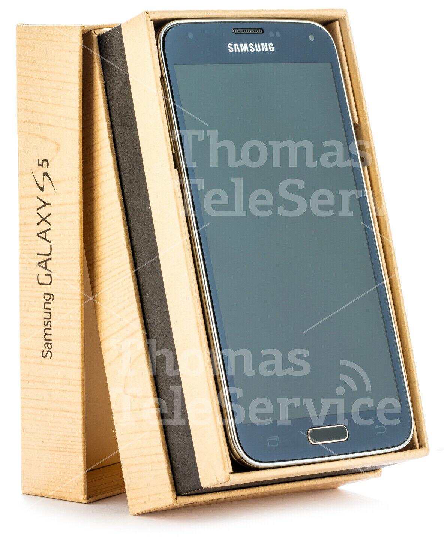Samsung Galaxy S5 G900f Black Schwarz Smartphone Handy Android HD Neu OVP