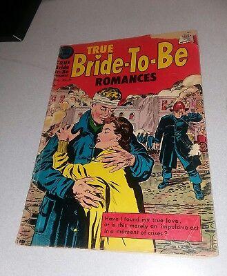 True Bride-To-Be Romances #25 home comics 1957 golden age romance lot collection