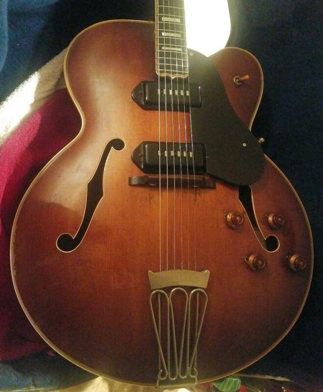 Circa 1956-1957 Gibson Byrdland W/  case