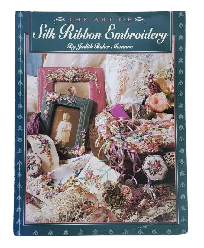 Silk Ribbon Embroidery Crafts Book Assorted Art Projects Roses On Fabric Decor