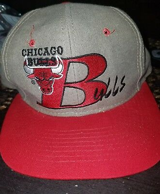 vintage Chicago Bulls snapback hat limited edition numbered mint condition! nice