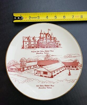 Greenburg, Indiana courthouse tower tree plate collector item