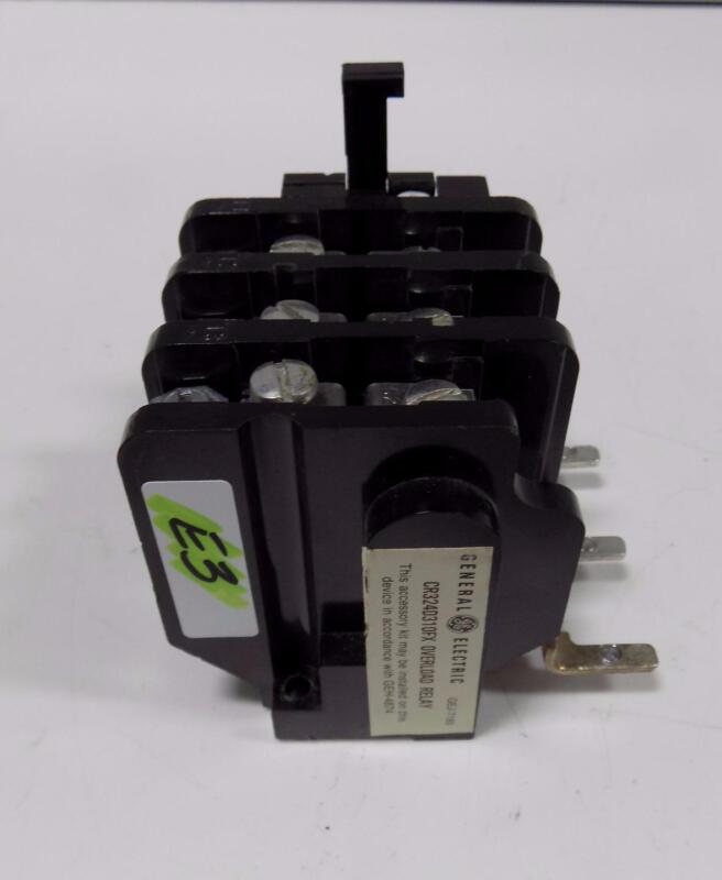 GENERAL ELECTRIC OVERLOAD RELAY CR324D310FX