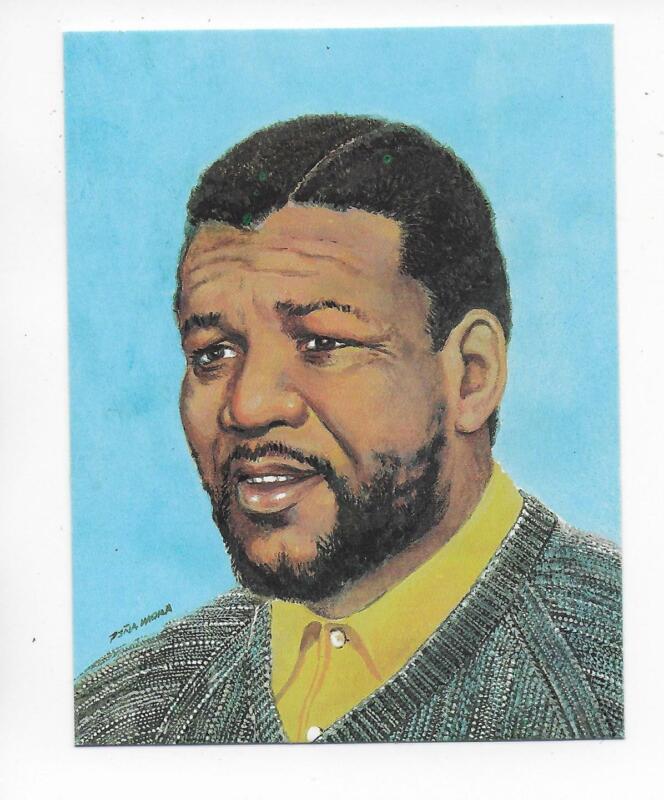 QSL Radio Cuba Habana 1988 Calendar Nelson Mandela DX SWL