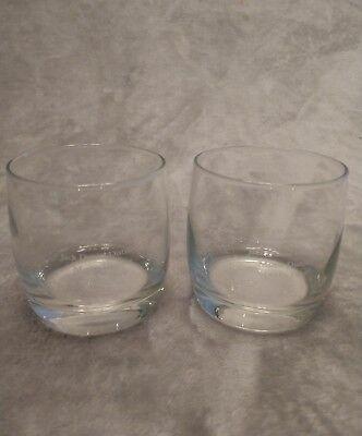 Set of 2 Jack Daniels Master Distiller Signature 1941-1964 Lem L Tolley glasses for sale  Fort Gibson