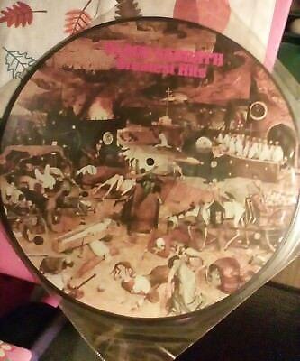 Black Sabbath Greatest Hits, picture disc