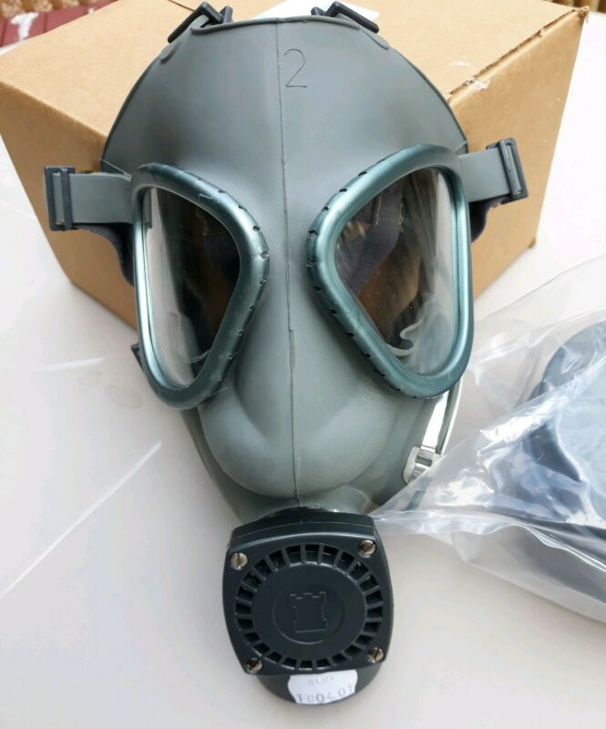 Biological, Chemical, Nuclear FULL FACE Mask ( Universal Size )
