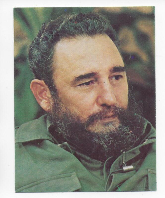 QSL Radio Cuba Habana 1988 Calendar Fidel Castro DX SWL