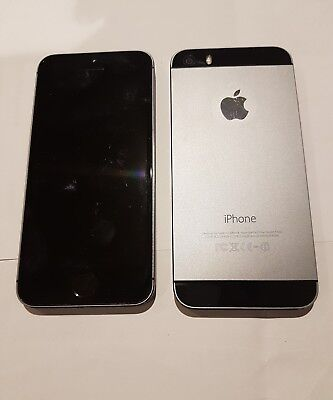 Apple iPhone 5S 32gb Unlocked grey black silver Good condition](iphone 5s unlocked 32gb black)