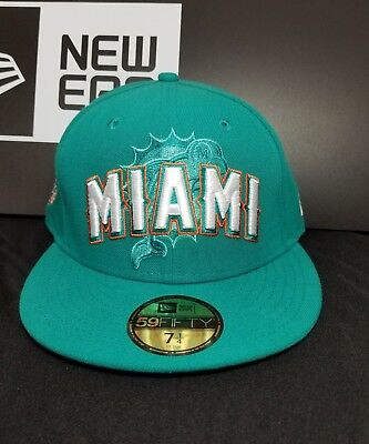 Miami Dolphins New Era 59Fifty Official 2012 NFL Draft Hat/Cap Size 7-1/4 ()