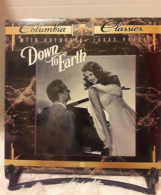 Down To Earth Laserdisc (1947) [11106] NEW LD