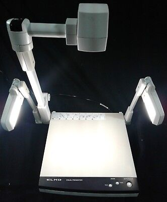 Elmo Visual Presenter Hv-3000xg Document Camera Presenter. Our 1