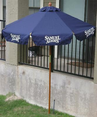 Sam Adams Beer New Pool or Patio Umbrella Beautiful Large 7 ' Wide.7 ' Tall ()