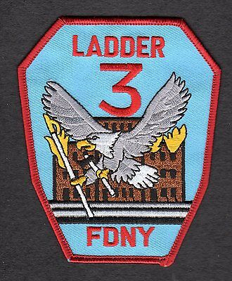 NEW YORK - L-3 Fire Patch !