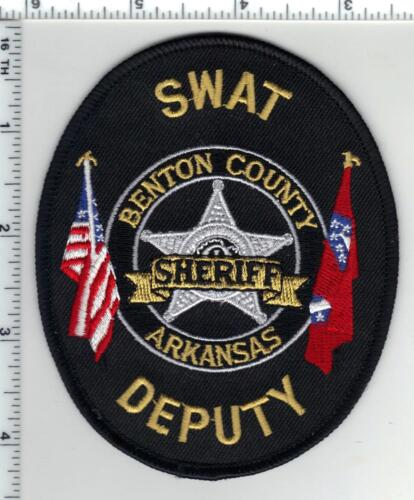 Benton County Sheriff Deputy (Arkansas)1st Issue  SWAT Shoulder Patch