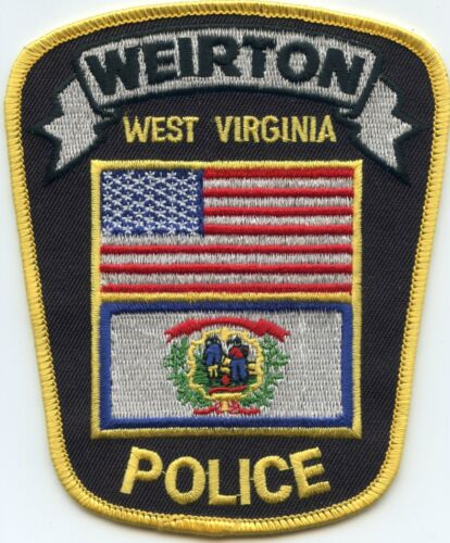 WEIRTON WEST VIRGINIA WV POLICE PATCH