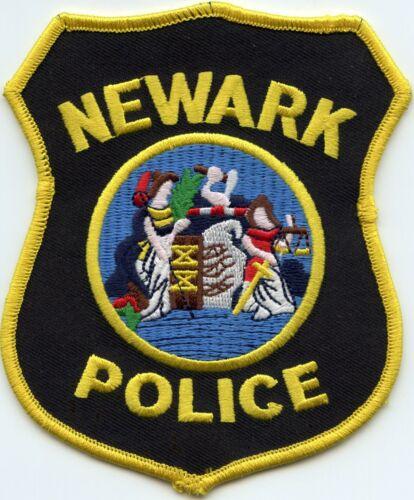 NEWARK NEW JERSEY NJ Colorful POLICE PATCH