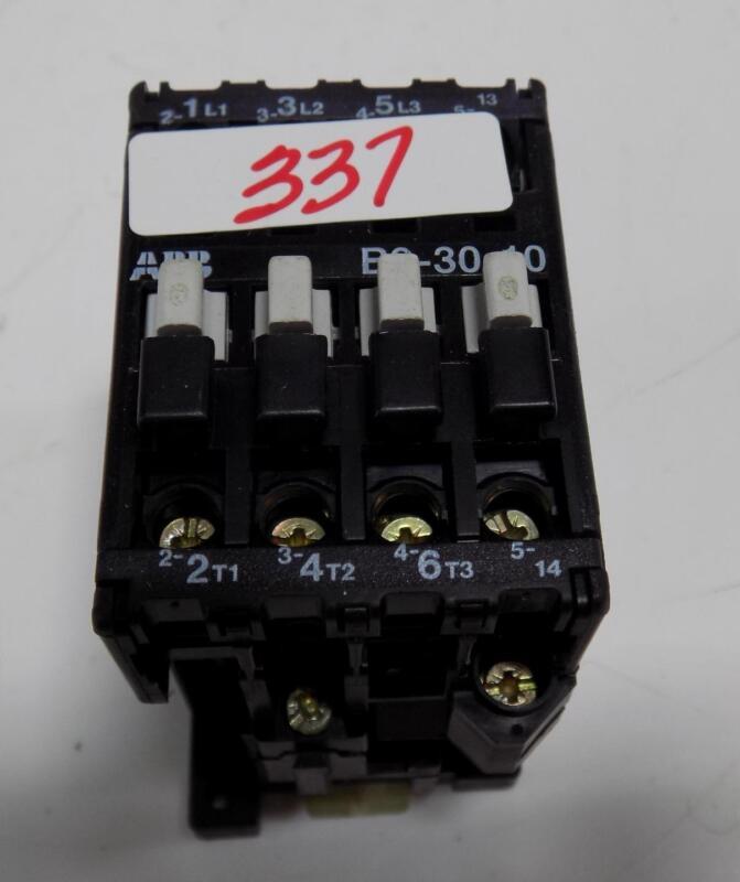 ABB MOTOR STARTER B9-30-10