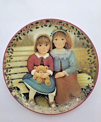 Barbie Collector's Plates.1960's High Fashion  Danbury Mint. Porcelain. Set of 6