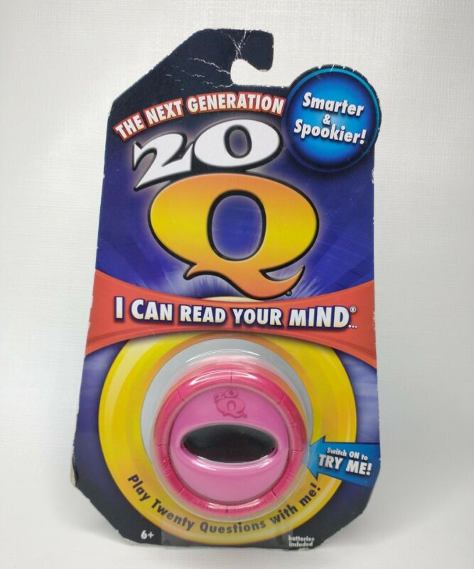20 Questions Electronic Handheld Game The Next Generation Pink Sealed New 2011