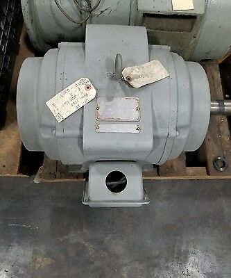 "Delco U1100 25 HP Electric Motor 1760RPM ""SHIPPING AVAILABLE"" #3029SR"