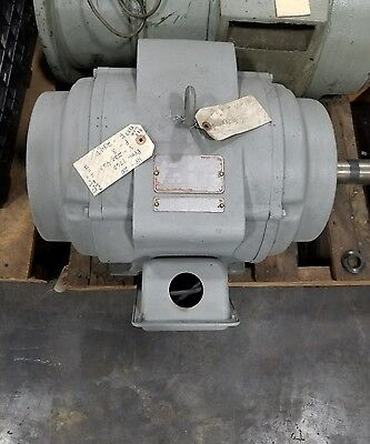 """Delco U1100 25 HP Electric Motor 1760RPM """"SHIPPING AVAILABLE"""" #3029SR"""