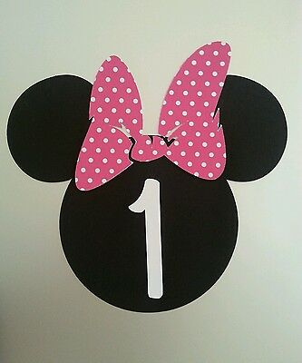 Minnie Mouse Pink DIY Invitations. Set of 20. Personalized with age - Minnie Mouse Invitations Diy