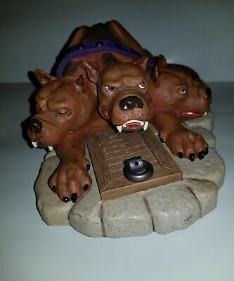 Harry Potter Fluffy The 3 Headed Dog Motion Sensor Door Stop brown dog