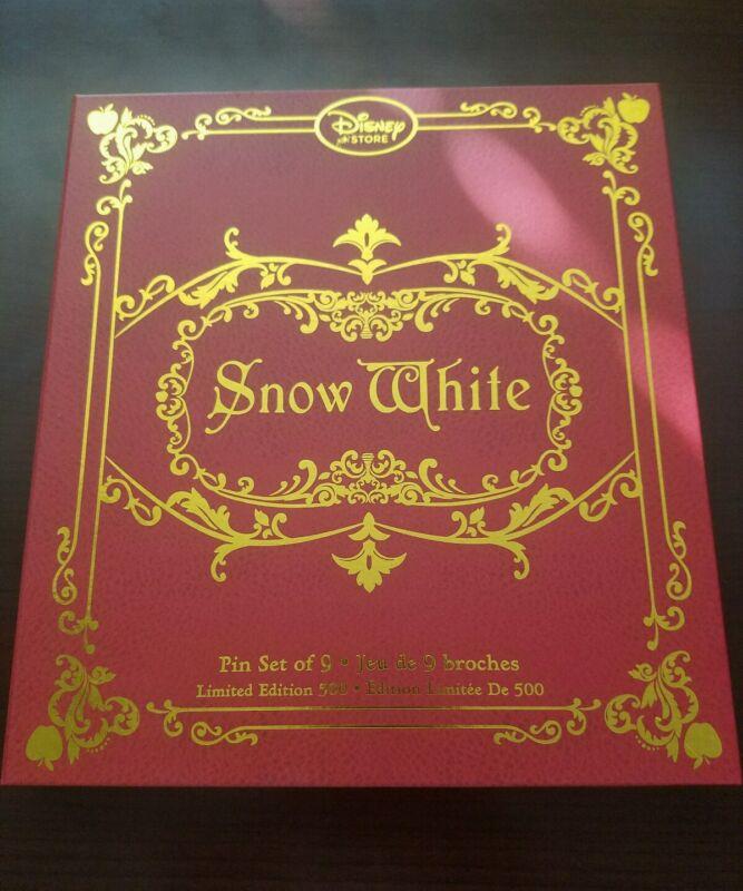 New Disney Snow White and the Seven Dwarfs 9-Pin Set LE 500