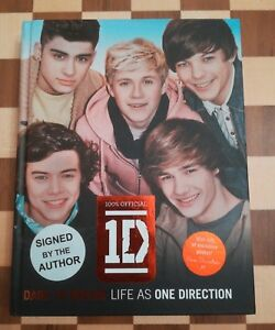 Dare to Dream Life as One Direction 100% Official SIGNED by all 5 HB Book 1st Ed