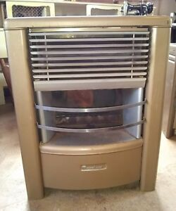 Vintage dearborn gas heater with ceramic's 35000 BTU