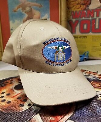 Ronald Reagan Air Force One Presidential Library Hat Brand new
