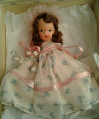 ❤NANCY ANN STORYBOOK DOLL BISQUE ADORABLE WITH BOX!