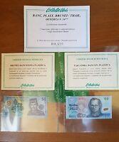 Banconota Plastica Brunei Ringgit + Banconota Plastica Tailandia Particolari -  - ebay.it