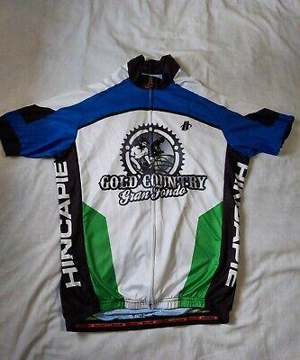 Men/'s 2018 Hincapie Racing Team Element Cycling Leg Warmers Black Size M EUC