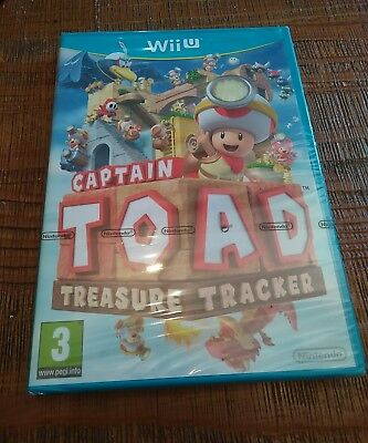 Jeux vidéo Captain Toad Treasure Tracker - nintendo Wii U neuf sous blister off