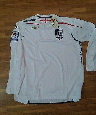 camiseta jersey shirt maillot maglia trikot INGLATERRA ENGLAND XL QUALIFIERS BNW